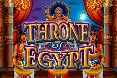 logo throne of egypt microgaming слот