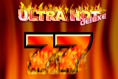 logo ultra hot deluxe novomatic слот