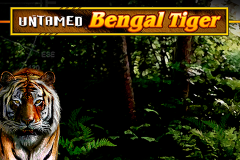 logo untamed bengal tiger microgaming слот