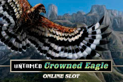logo untamed crowned eagle microgaming слот