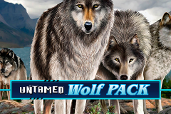 logo untamed wolf pack microgaming слот