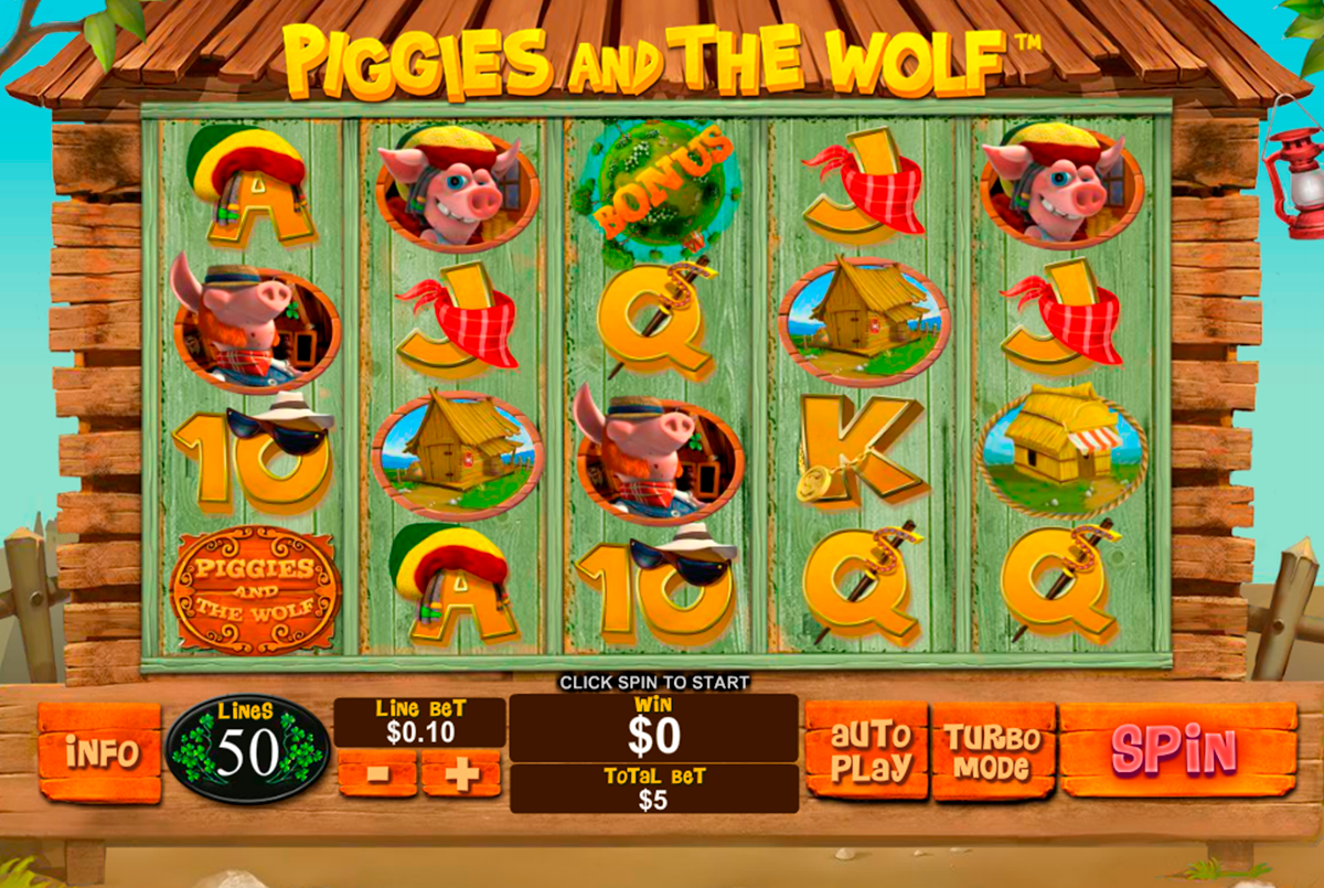 piggies and the wolf playtech игровой автомат