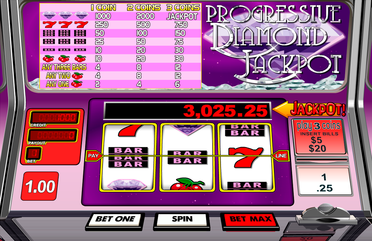 progressive diamond jackpot betsoft игровой автомат