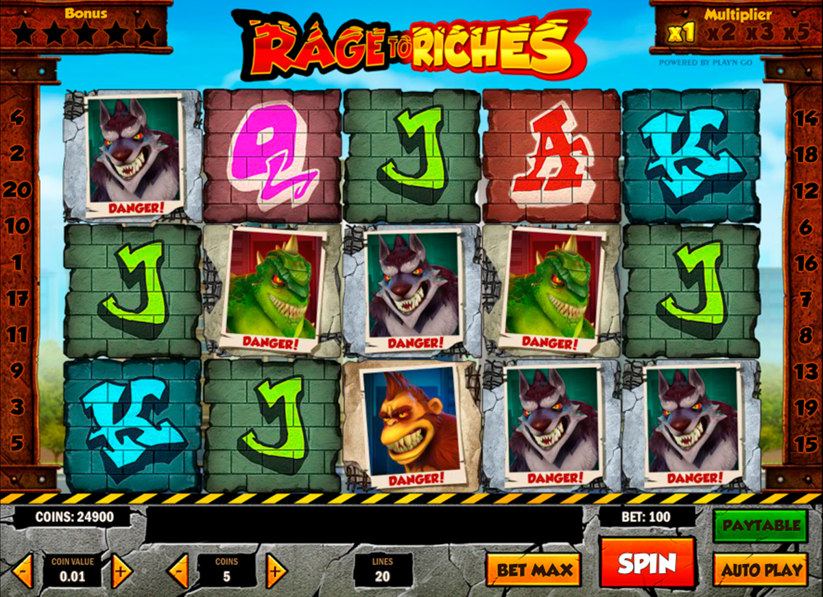 rage to riches playn go игровой автомат