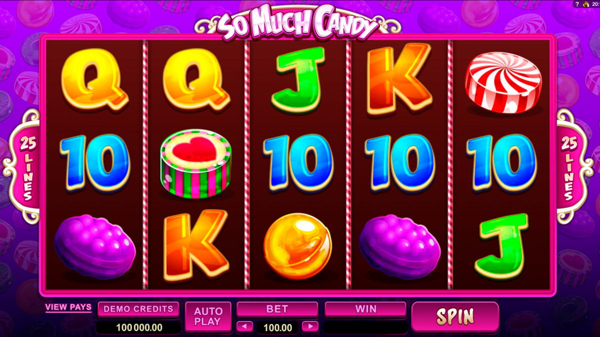 so much candy microgaming игровой автомат