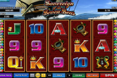 sovereign of the seven seas microgaming игровой автомат