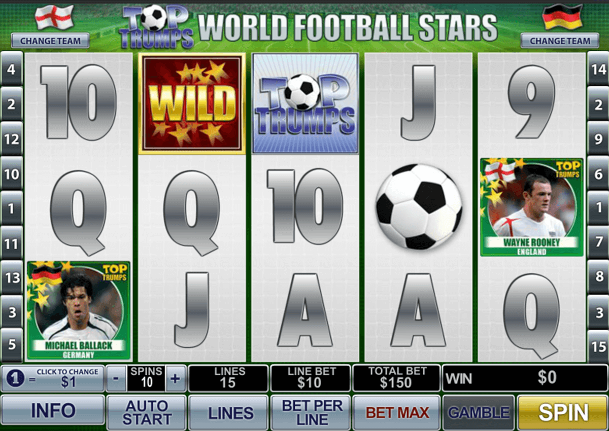 top trumps world football stars playtech игровой автомат