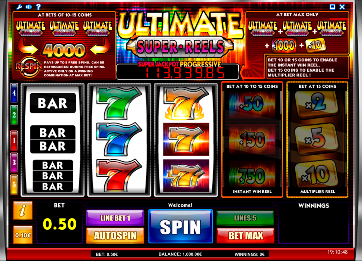 ultimate super reels isoftbet игровой автомат