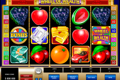 wheel of wealth special edition microgaming игровой автомат 480x320