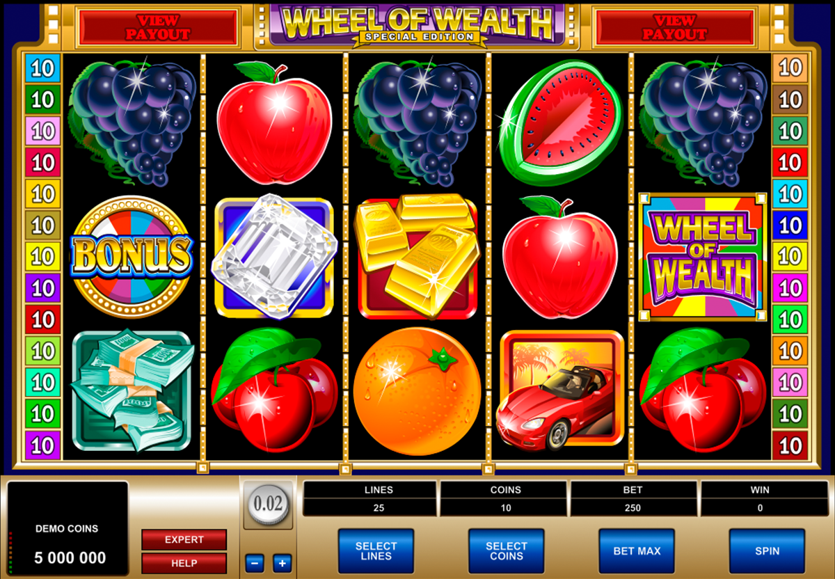 wheel of wealth special edition microgaming игровой автомат