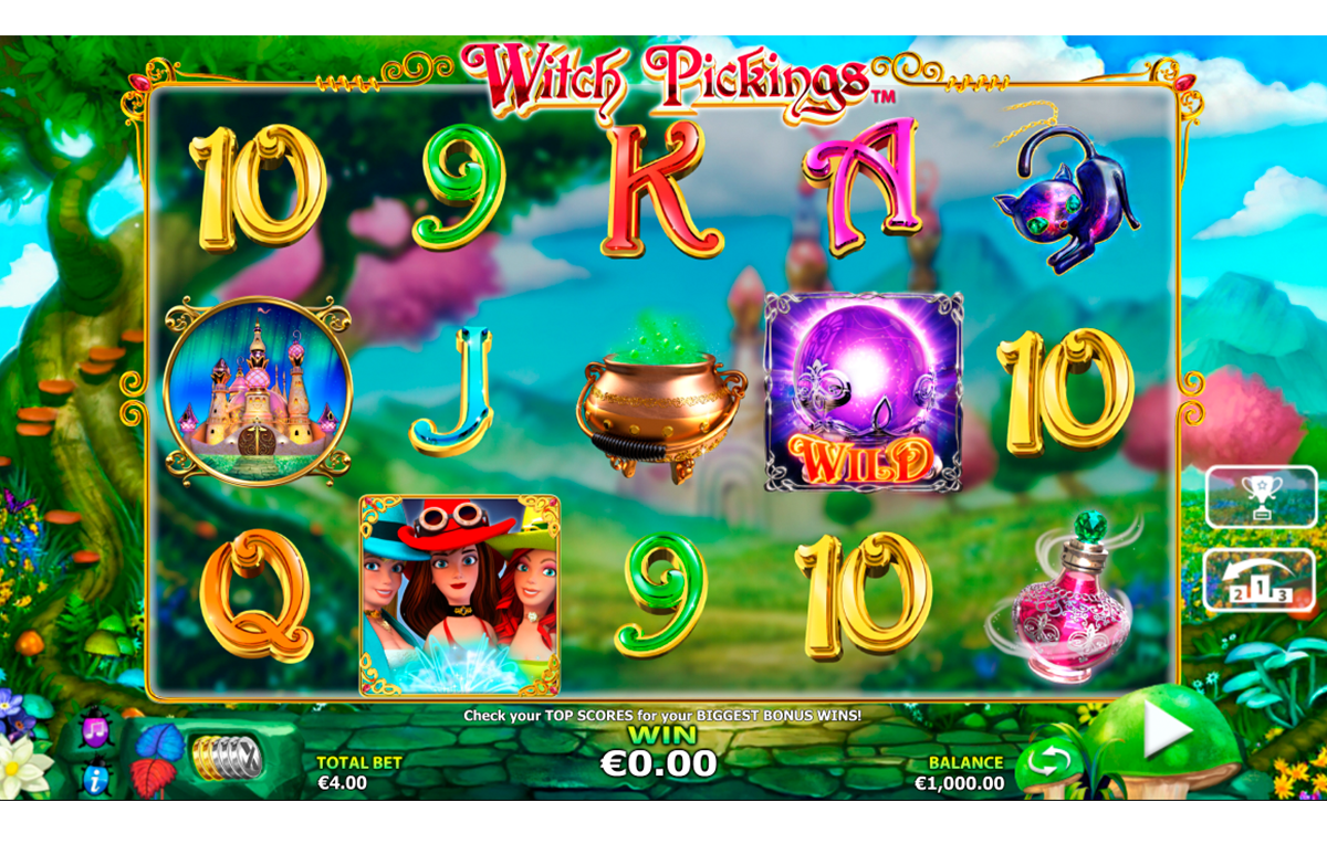 witch pickings nextgen gaming игровой автомат
