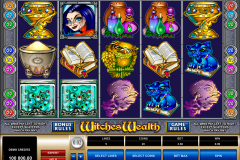 witches wealth microgaming игровой автомат 480x320